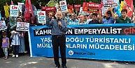 Özgür-der Doğu Türkistandaki Saldırıları Protesto Etti