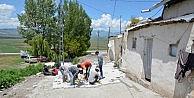 Palandöken Belediyesin Den Tepe Köyüne Ve Börekli Köyüne Kilit Taşı