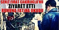 Pamukoğlu Şehit Fırat Çakıroğlu'nun Kabrini Ziyaret Etti