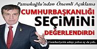 Pamukoğlu'ndan Cumhurbaşkanlığı Seçimi Hakkında Çarpıcı Açıklama