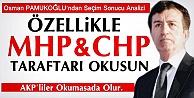 Pamukoğlu'ndan Seçim Analizi Sadece MHP Ve CHP'liler Okusun