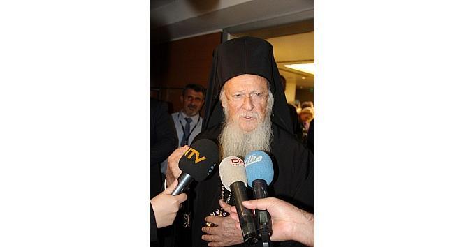 """Patrik Bartholomeos: """"papa Hazretleri İle Dünya Barışı İçin Müşterek Gayret Sarf Ediyoruz"""""""