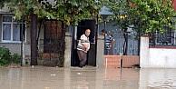 Pınarça Deresi Taştı Evleri Su Bastı