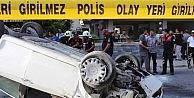Polisten Kaçarken Kaza Yapan Otomobilden Uzun Namlulu Silah Çıktı