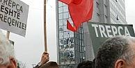 Priştinede Protestolar Alevlendi