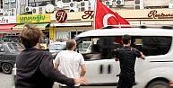 Rizede Gergin Doğu Türkistan Yürüyüşü