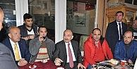 Sağlık Bakanı Bisiklete Bindi, Vatandaşla Kahvaltı Yaptı