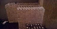 Sakaryada 36 Bin 830 Paket Kaçak Sigara Ele Geçirildi