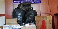 Sakarya'da 4 Bin 178 Paket Kaçak Sigara Ele Geçirildi