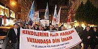 Samsun'da 17 Ve 25 Aralık Operasyonu Yürüyüşü