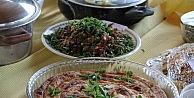 Samsunda Ot Yemekleri Yarıştı