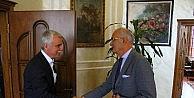 Samsunspor, Başkan Yılmazı Ziyaret Etti