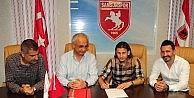 Samsunsporda Mustafa Sevgi İle 2 Yıllık Sözleşme İmzalandı