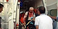 Şarampole Uçan Araçtaki 2 Kişi Ağır Yaralandı