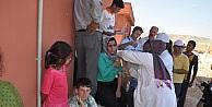 Siirt'te Yezidiler Sağlık Kontrolünden Geçirildi