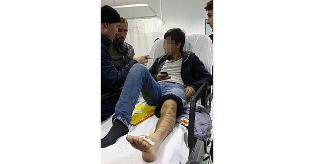 Silahlı Saldırıya Uğrayan Büfeci Genç Hastanelik Oldu