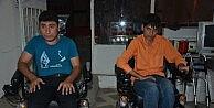 Silvan'da Engellilere Akülü Sandalye Hediye Edildi