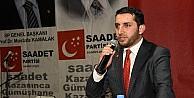 Sp Gençlik Kolları Genel Başkanı Aydın, Gümüşhane'de Gençlik Şölenine Katıldı
