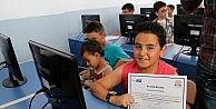 Sungurlu'da Çocuklara Yazılım Eğitimi Verildi