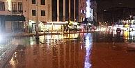Taksimde Yağış Etkili Oldu
