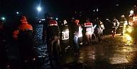 Tekirdağ'da Araç Denize Uçtu: 1 Ölü, 2 Yaralı