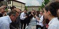 Trabzonda İlginç Ebru Denemesi