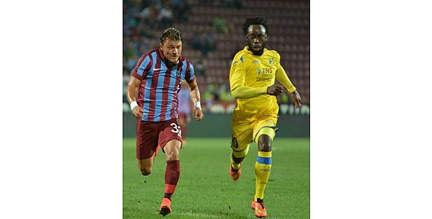 Trabzon'da Ilk Yarıda Tek Gol Var