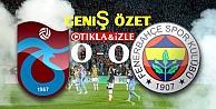 Trabzonspor 0-0 Fenerbahçe