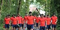 Trabzonspor Hollanda Da İlk Çalışması Yeni Hocası Shota İle Yaptı.