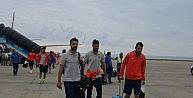 Trabzonspor Kafilesi Trabzona Geldi