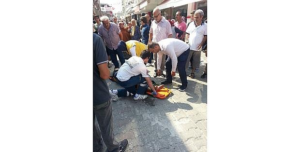 Trafiğe Kapalı Alanda Kaza: 1 Yaralı