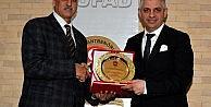 Tüfad'tan Başkan Kocamaz'a 'spora Destek' Ödülü
