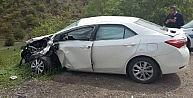Tunceli-erzincan Karayolunda Trafik Kazası: 4 Yaralı