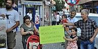 Tunceli'de Açlık Grevindeki Aileye Destek Yürüyüşü