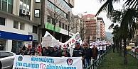 Türk-iş, Kıdem Tazminatı İçin Tabutla Yürüdü