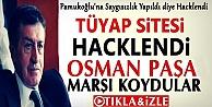 Türk Siber Grubu TÜYAP Sitesini Hackledi Osman Paşa Marşı Koydu