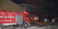 Tuz Fabrikasında Yangın