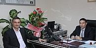 Ulama, Uedaş İnegöl Şube Müdürü Enis Gürer'i Ziyaret Etti