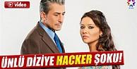 Ünlü diziye hacker şoku! İZLE