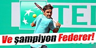 Ve şampiyon Federer!