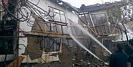 Vezirhan'da Yangın