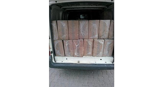 Viranşehir'de 47 Bin Paket Kaçak Sigara Ele Geçirildi