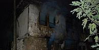 Yaşlı Kadın Yangından Camdan Atlayarak Kurtuldu