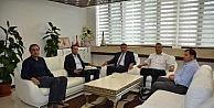 Yeni Malatyaspor Yönetimi, Başkan Gürkanı Ziyaret Etti