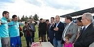 Yenihisarspor Şampiyonluk Kupasını Kaldırdı
