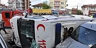 Yozgatta Ambulansın Karıştığı Kazada 1 Kişi Öldü, 3 Kişi Yaralandı