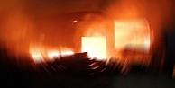 Yüksek Hızlı Tren tünelinde yangın