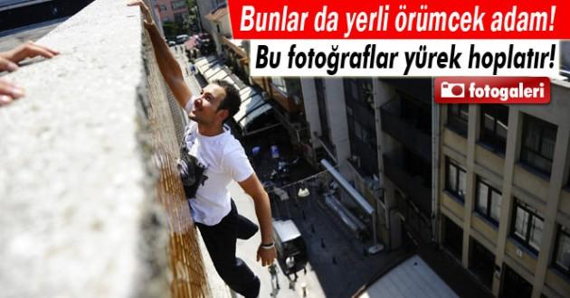 Türk Örümcek Adamlar, Yaptıklarıyla Şaşırtıyor