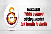 Galatasaray'ın yıldızı sözleşmesini tek taraflı feshetti