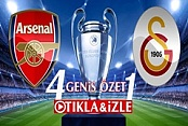 Arsenal 4-1 Galatasaray Maçı Geniş Özeti Golleri İzle